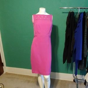 Tory Burch bright pink dress